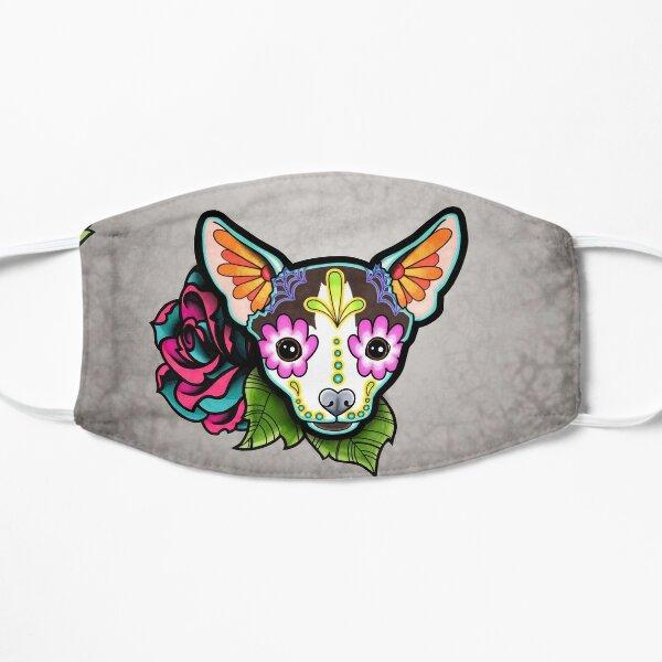 Tag der toten Chihuahua in Moo Sugar Skull Dog Maske