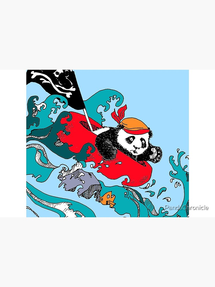 Ahoy Pirate Wu! by PandaChronicle
