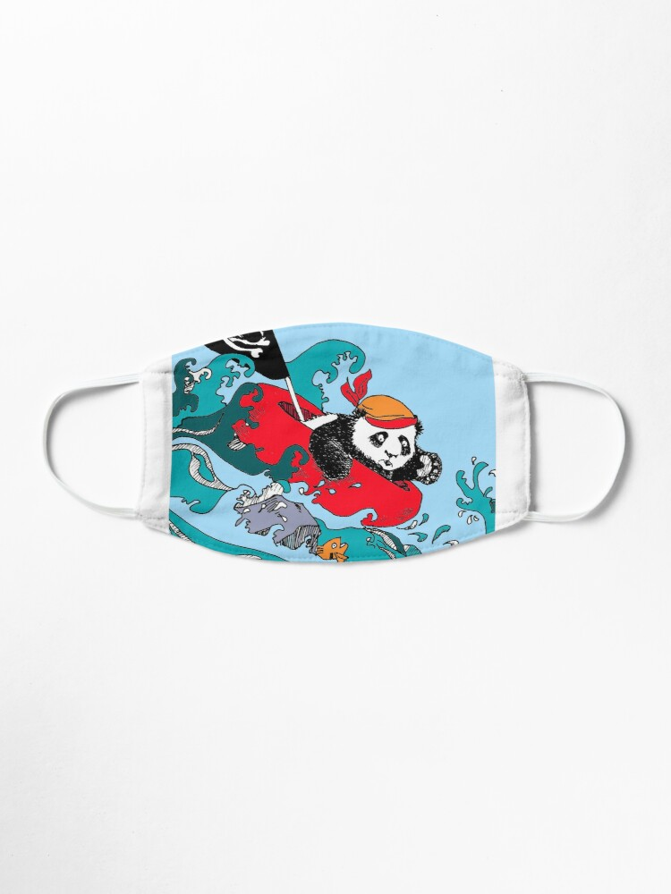 Alternate view of Ahoy Pirate Wu! Mask