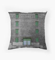 Boarded Windows Throw Pillow