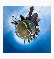 Mackinaw City, MI Panoplanet Photographic Print