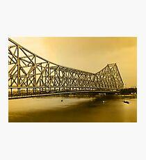 Howrah Bridge Photographic Print