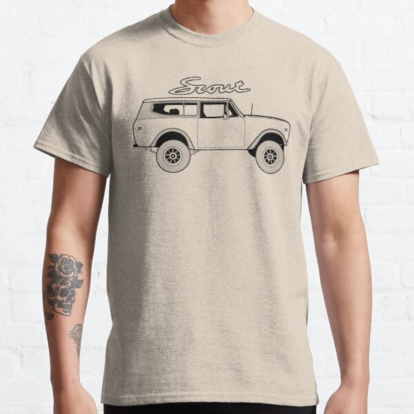 International Scout II Harvester Classic Vintage 4x4 Truck Offroad Vehicle Classic T-Shirt