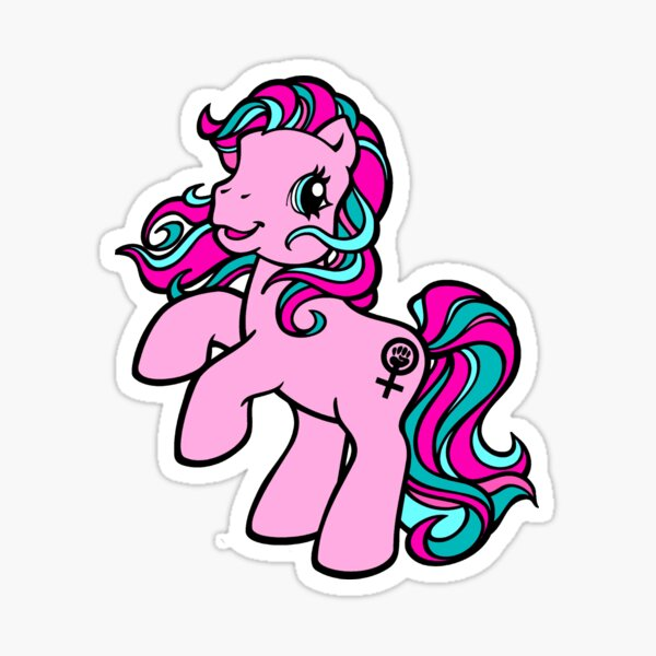 My Feminist Pony Sticker