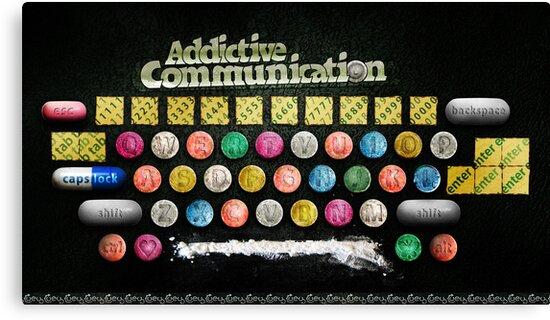 Addictive Communication by Uey333