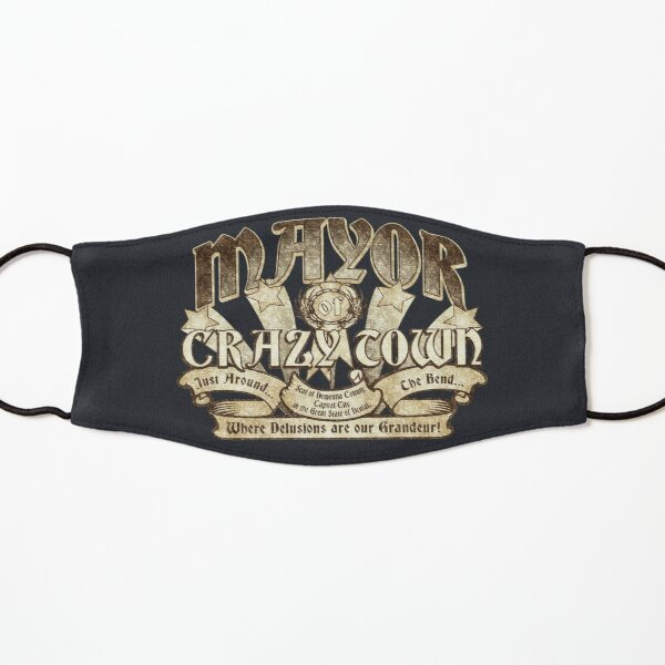 Mayor of Crazy Town Kids Mask