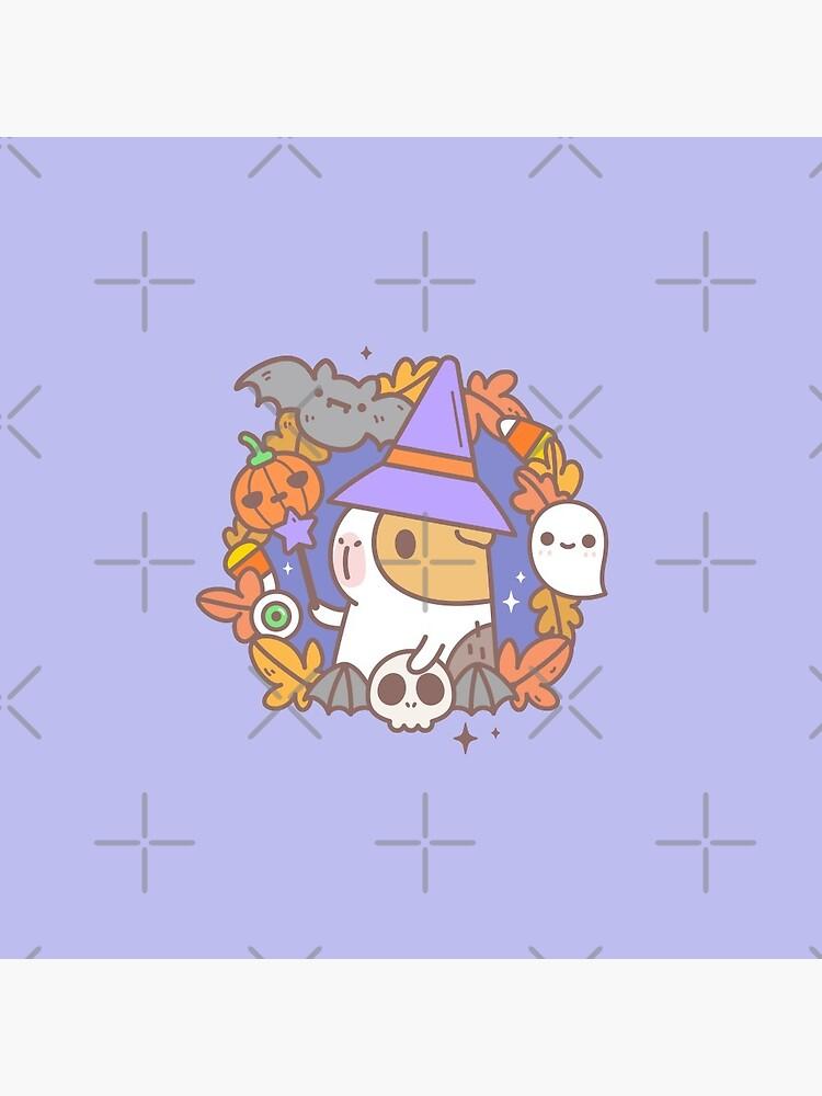 Bubu the Guinea pig, Witchy Wreath by Miri-Noristudio