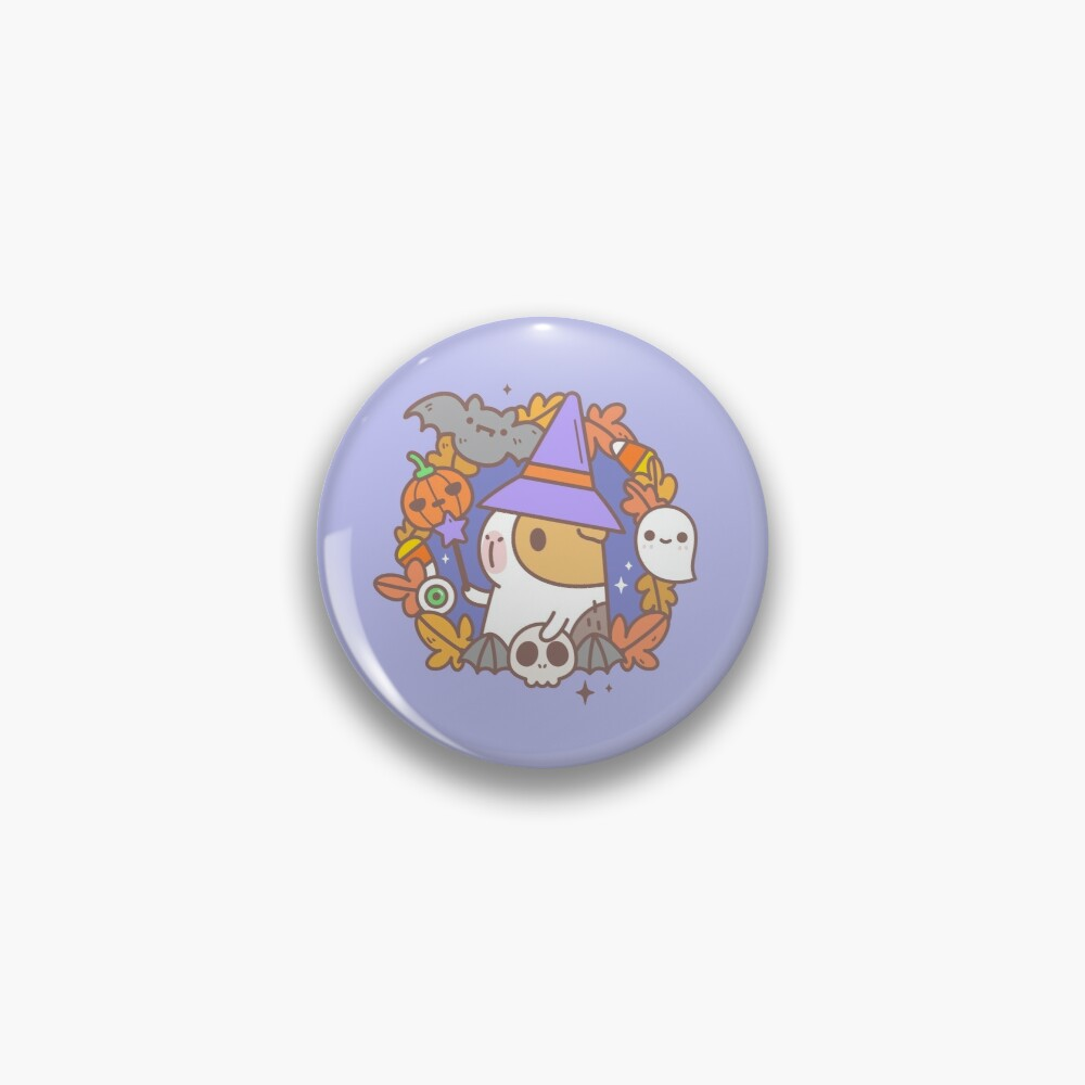 Bubu the Guinea pig, Witchy Wreath Pin