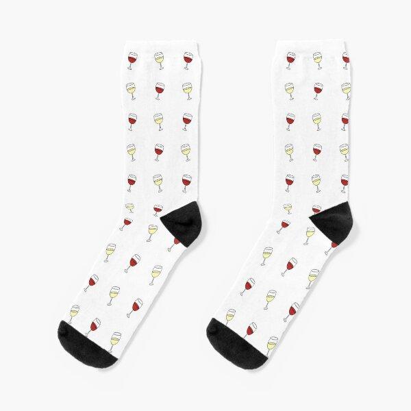 Red Wine, White Wine Socks