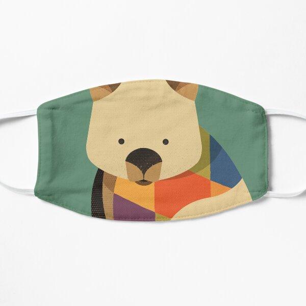 Hello Wombat Flat Mask
