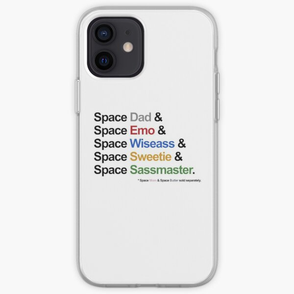 Voltron - Paladins IN SPACE! Feat. Allura & Coran (For Light Backgrounds) iPhone Soft Case