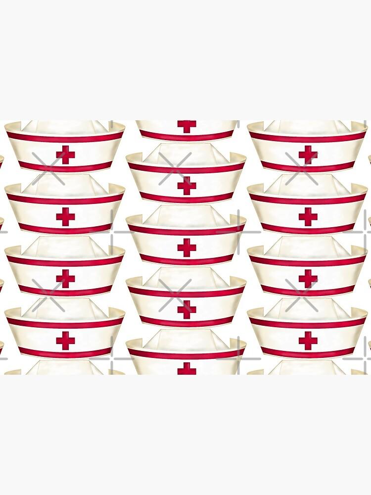 Red and White Nursing  by SherDigiScraps
