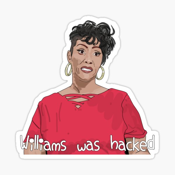 Yolanda Williams Was Hacked 90 Day Fiance Sticker By Ofthemoral Redbubble