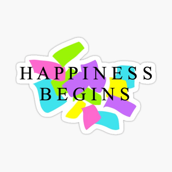 Pegatina Confeti de felicidad Pegatina
