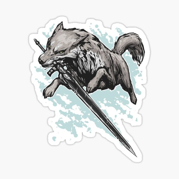 The Swordswolf Sticker