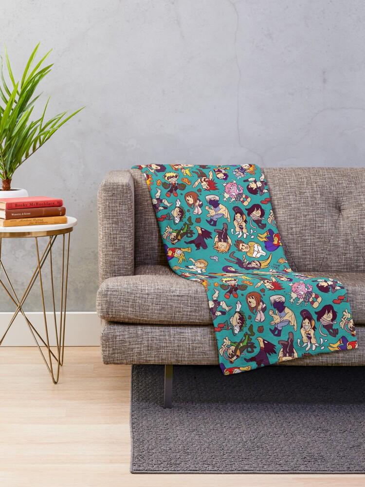 Alternate view of Plus Ultra Pattern Throw Blanket