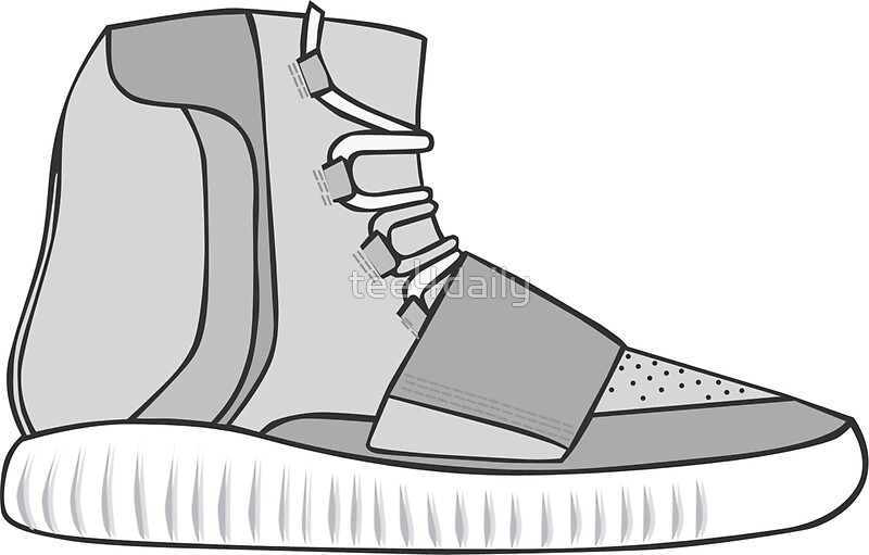 Quot Yeezy Boost Quot Stickers By Tee4daily Redbubble