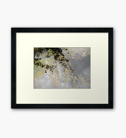 The Up Side of Down #1 Framed Print