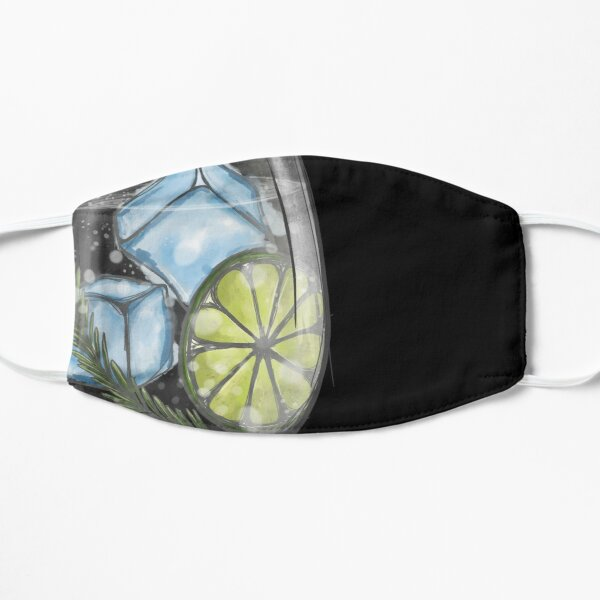 Gin and tonic - Gengerelle Flat Mask