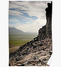 Crazy views of Iceland,  Borgarvirki. Poster