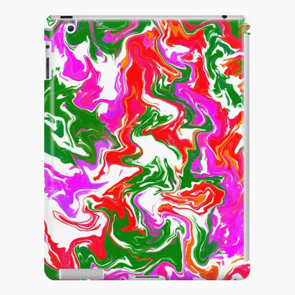 Digital Pour Abstract Print  iPad Snap Case