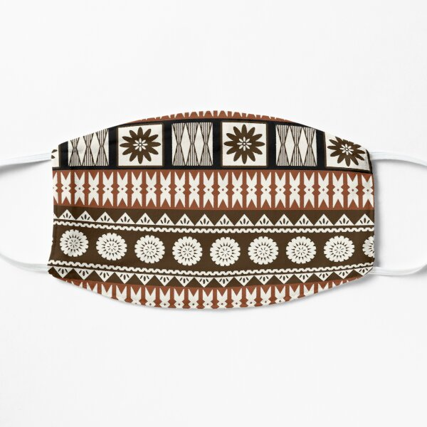 Fijian Masi - Tapa  Flat Mask