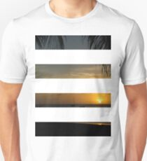 4 Strip Sunset T-Shirt
