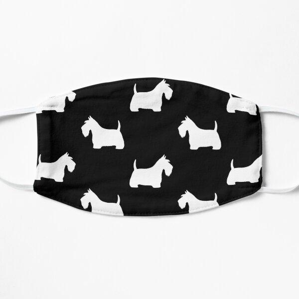 White Scottish Terrier Silhouette(s) Mask