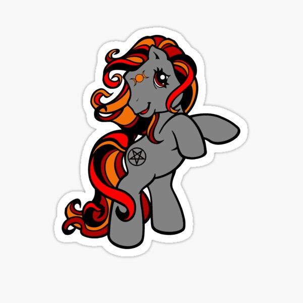 Baby Witch Pony  Sticker