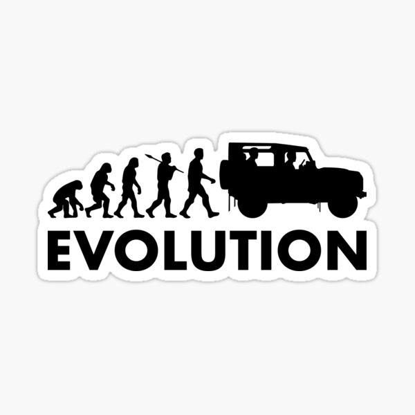 Land Rover Defender Evolution Sticker