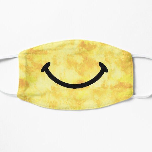 Tie Dye Smile Flat Mask