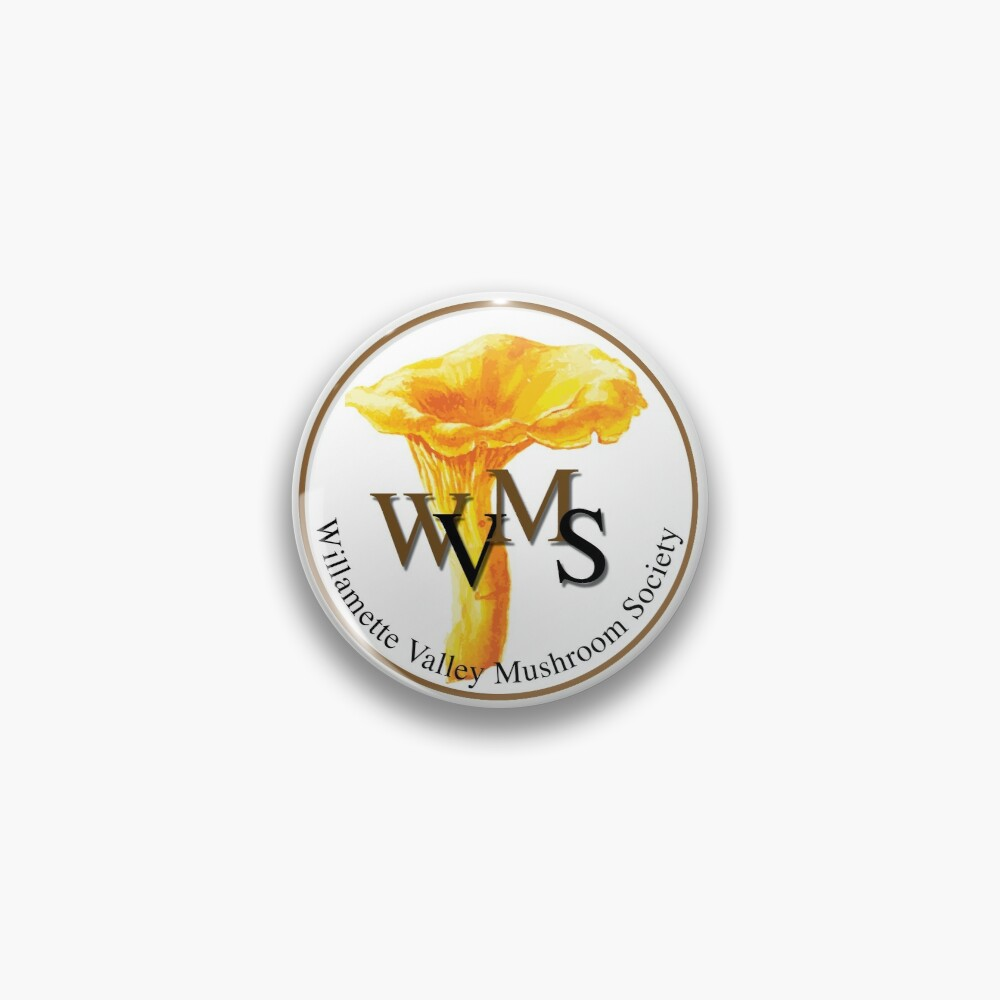 Willamette Valley Mushroom Society Pin
