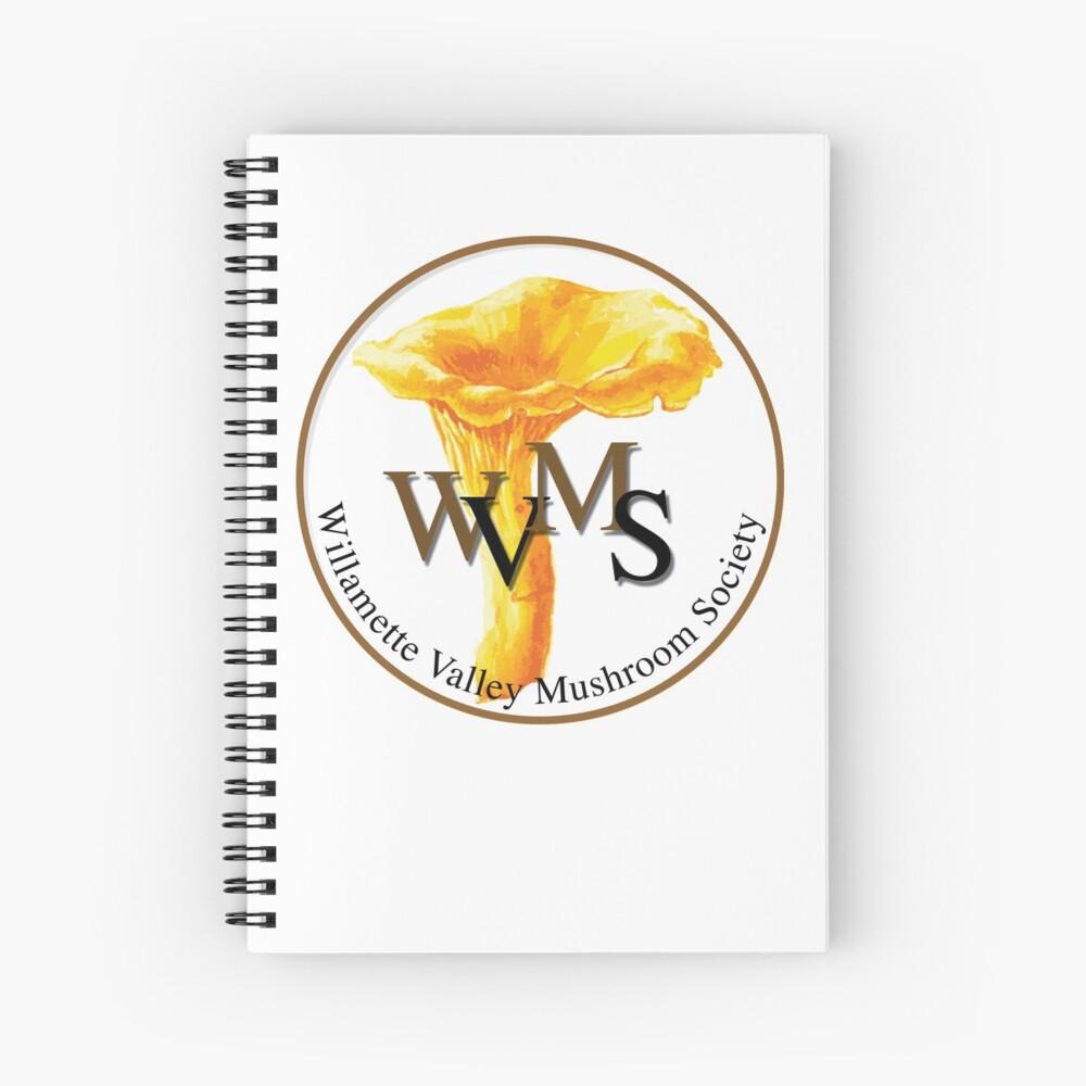 Willamette Valley Mushroom Society Spiral Notebook