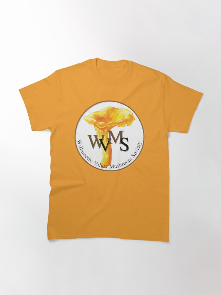 Alternate view of Willamette Valley Mushroom Society Classic T-Shirt