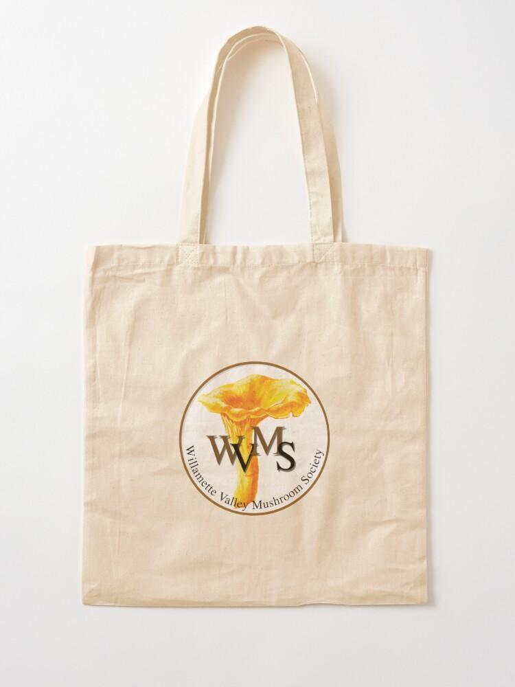 Alternate view of Willamette Valley Mushroom Society Tote Bag