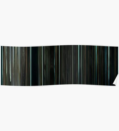 Moviebarcode: Sequence from Harry Potter and the Deathly Hallows: Part 2 (2011) Poster