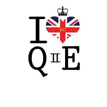 I heart Queen Elizabeth  by Casper