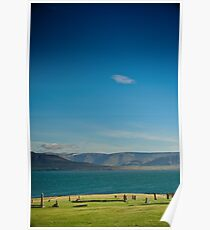 Crazy views of Iceland,   Hvalfjordur. Poster