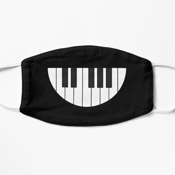 Piano Smile Flat Mask