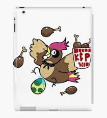 Kanto Fried Pidgeotto! iPad Case/Skin