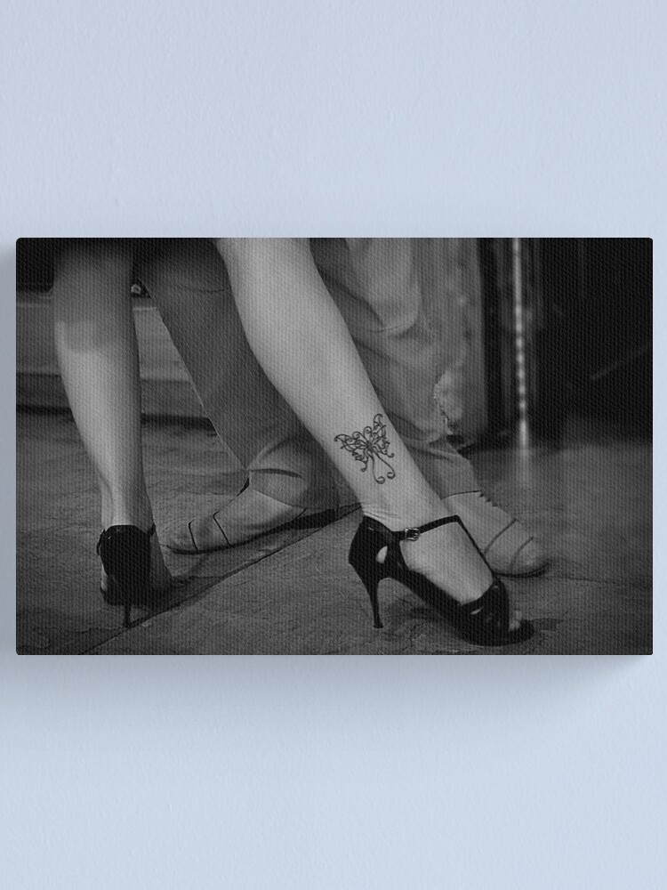 Alternate view of Tanguera's tattoo Canvas Print