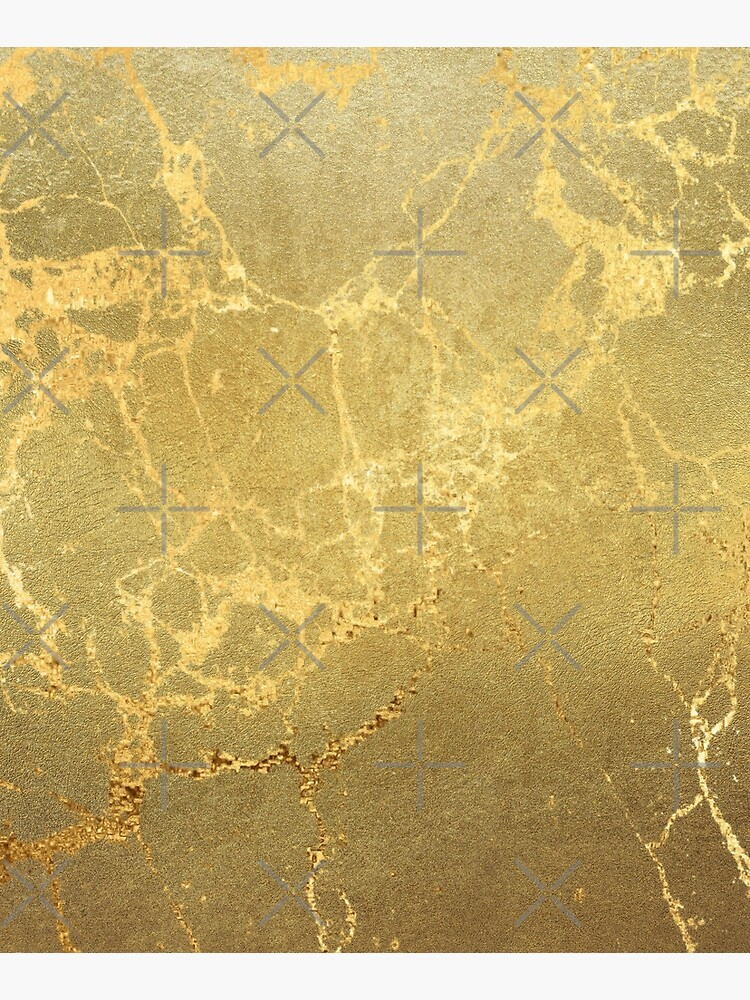 Gold Marble Texture with Gold Veins by MysticMarble