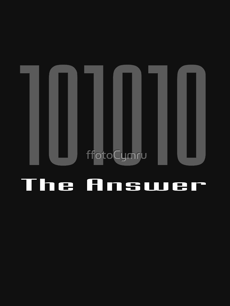 The Answer ... by ffotoCymru