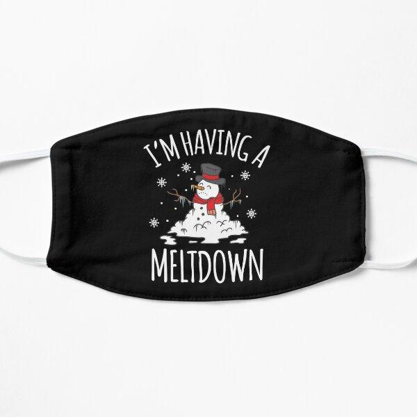 I'm Having A Meltdown Snowman Christmas Frost Gift Flat Mask
