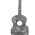 Guitar by Skyetangles