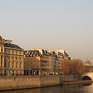 Paris Morning II by Louise Fahy