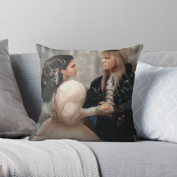 Labyrinth of Love (Digital Drawing) Throw Pillow