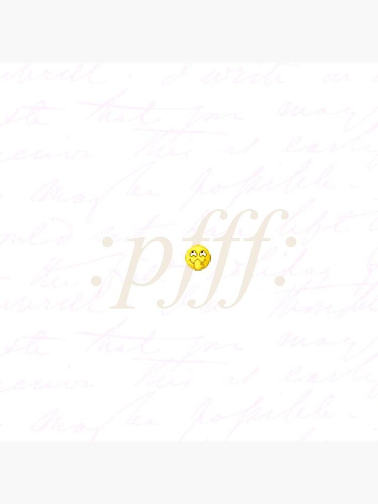Emoji: pfff: by gen-ecriture