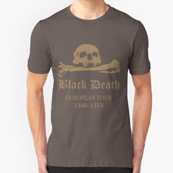 Black Death - European Tour Slim Fit T-Shirt