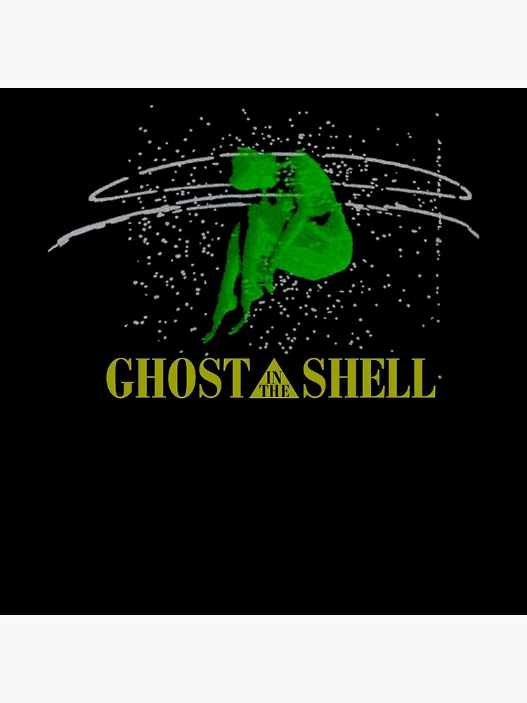 Vintage Ghost In The Shell T Shirt Anime 1999 Akira Black Art Board Print By Mark448 Redbubble